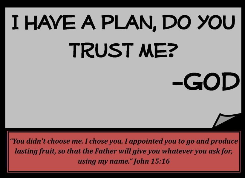 Can God trust you