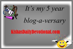 Blog-a-versary