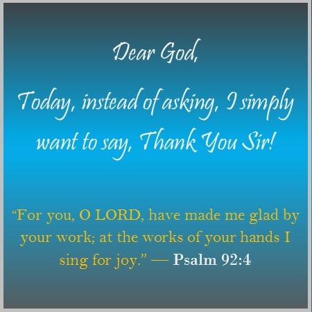 Daily Devotional 102417 A Thank You Lord Praise Kishas