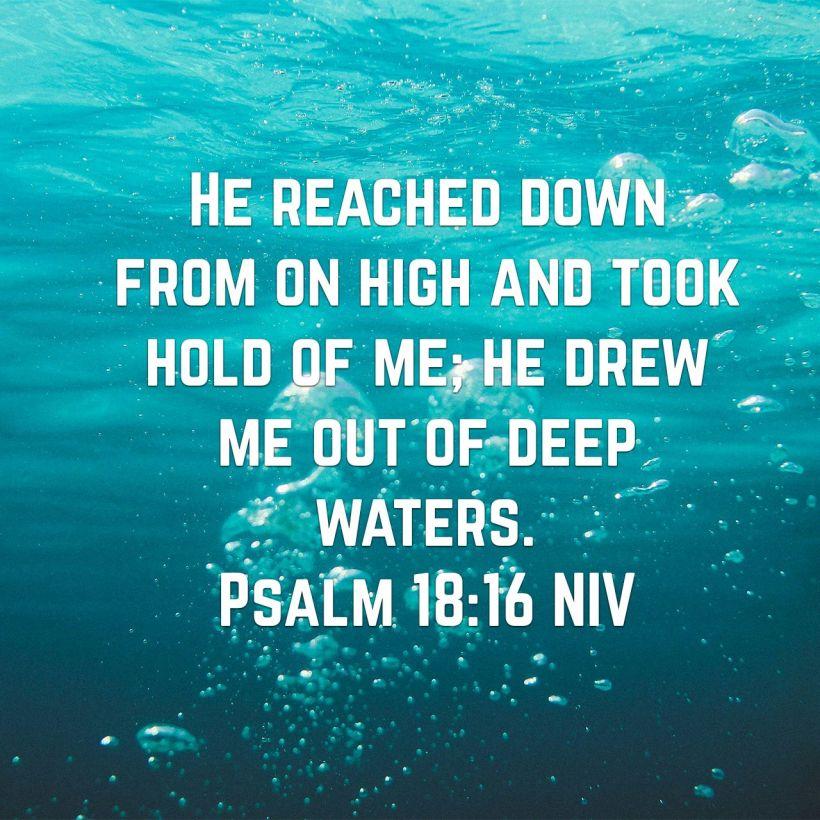 Psalm 18:16 – Kisha's Daily Devotional
