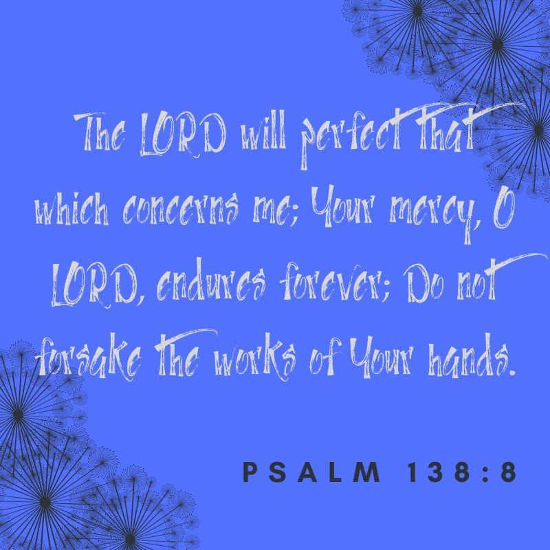 Psalm 138_8